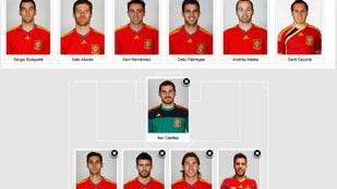 Escoge a tu once ideal de la selección española ante Italia