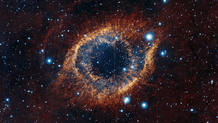 La imagen de la Nebulosa de la Hélice, tomada por el Telescopio VISTA