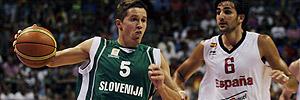 España 73-61 Eslovenia
