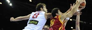 España 92-80 Macedonia