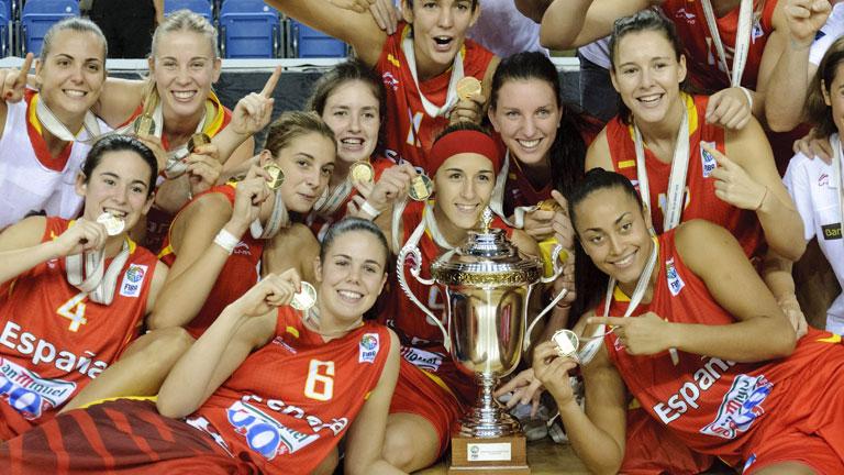 España, campeona de Europa sub 20