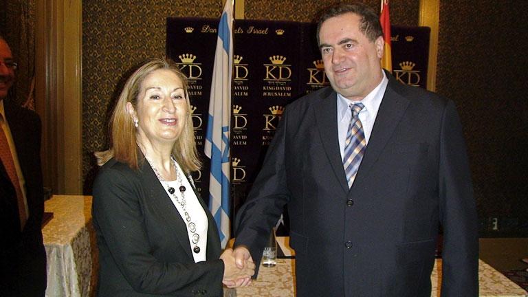 Ana Pastor firma en Israel un acuerdo de colaboración para que empresas españolas participen en grandes proyectos de infraestructura