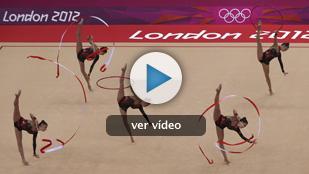 España, cuarta en gimnasia rítmica por equipos