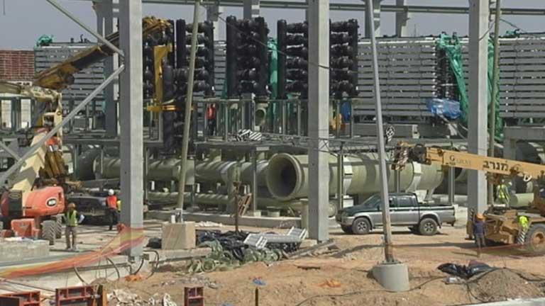 Espa?a construye la planta desaladora m?s grande del mundo en Israel