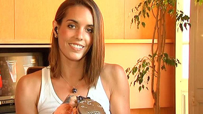 España Directo- Ona Carbonell, una 'sirena' coleccionista de medallas