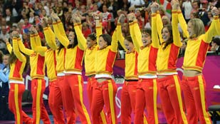 Espa&ntilde;a mantiene su media de medallas