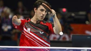 España pierde con Polonia en tenis de mesa (clase 9-10), 2-3
