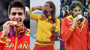 Ver vídeo  'España se despide de Londres con 17 medallas'