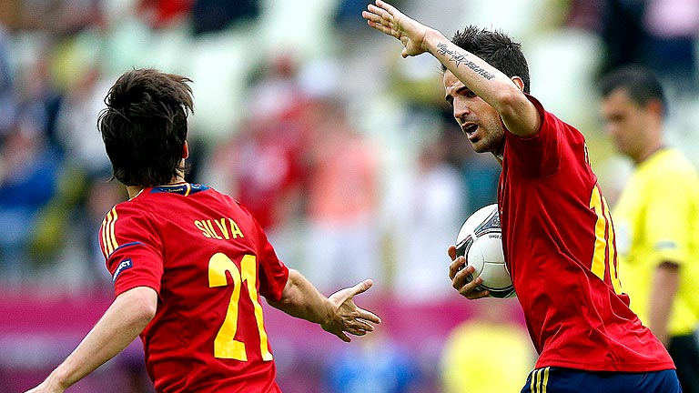 Espa&ntilde;a se une para el siguiente partido de la Eurocopa 2012