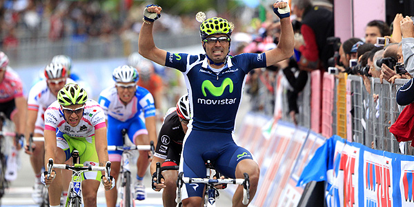 El español Francisco Ventoso se impone en la 9ª etapa del Giro de Italia 2012.