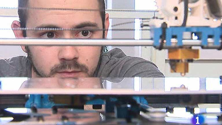Jóvenes españoles desarrollan una impresora 3D para democratizar el diseño