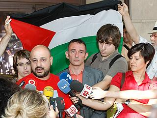 Ver v?deo  'Los españoles de la flotilla enviarán ayuda a Gaza'