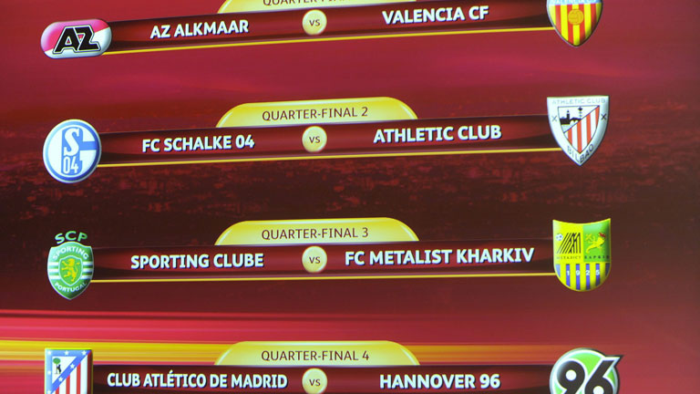 Los españoles se evitan en la Europa League