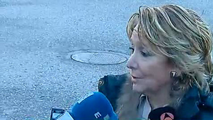 Ver v&iacute;deo  'Esperanza Aguirre: Carromero no es un delincuente seg&uacute;n la ley espa&ntilde;ola'