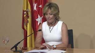Ver vídeo  'Esperanza Aguirre deja el cargo por sorpresa'