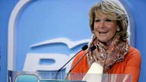 Ir al Video&nbsp;Esperanza Aguirre deja su puesto de funcionaria y se marcha a una empresa privada catalana