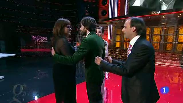 Un espontáneo se cuela en la gala de los premios Goya 2012