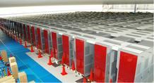 Está equipado con 672 racks o 'armarios' en los que hay instaladas 68.544 CPUs