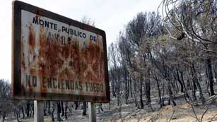 Ver vídeo  'Estabilización del incendio en Valencia'