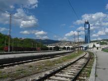 La estación de tren de Sarajevo