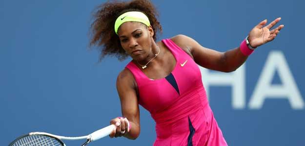 La estadounidense Serena Williams vuelve a vencer, esta vez contra la española María José Martínez Sánchez, durante la segunda ronda del US Open.