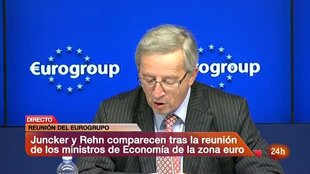 El Eurogrupo acuerda dar a España 30.000 millones antes de fin de mes para banca