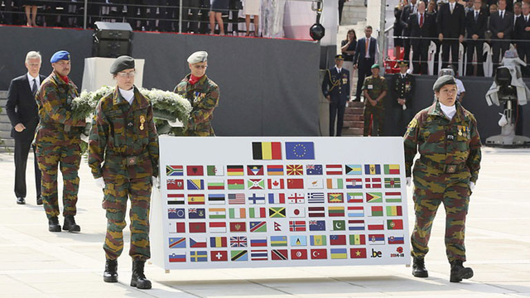 Europa recuerda el inicio de la Primera Guerra Mundial en la ciudad de Lieja
