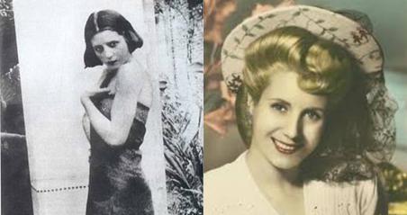 Eva Perón, de niña a mujer