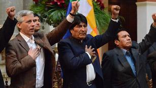 Ver vídeo  'Evo Morales expropia la filial de Red Eléctrica Española en Bolivia'