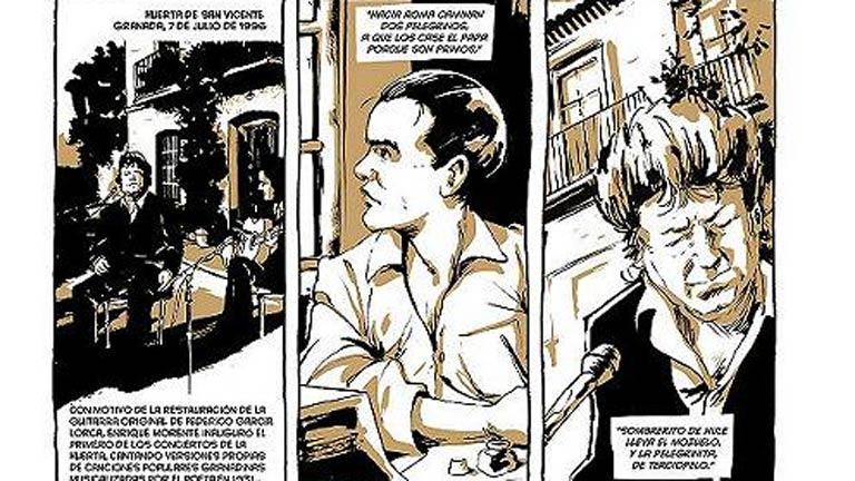 Diez dibujantes de primer nivel están realizando un cómic sobre la evolución del flamenco