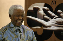 El ex presidente sudafricano, Nelson Mandela, cumplirá el próximo 18 de julio 90 años