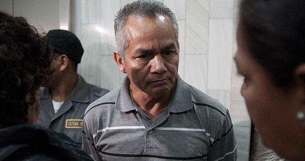 El exmilitar guatemalteco, Pedro Pimentel, ha sido condenado a más de 6.000 años de cárcel