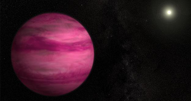 El exoplaneta magenta GJ 504b.
