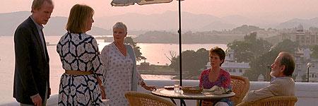 'El exótico hotel Marigold'