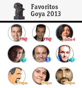 Los expertos de RTVE eligen sus favoritos