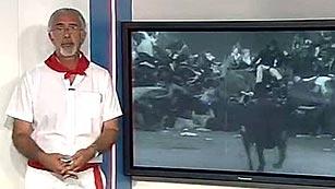 Ver vídeo  'Explicación de Javier Solano sobre la causa del tapón'