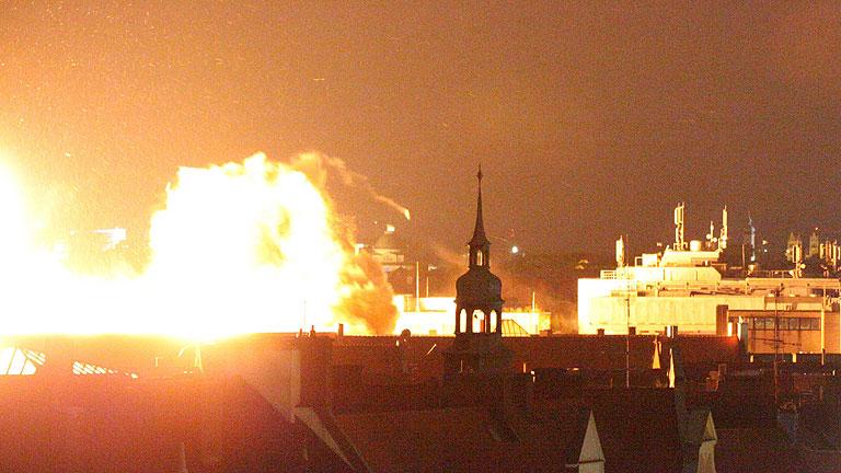 Explosionan de forma controlada una bomba de la II Guerra Mundial en Múnich