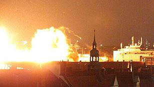 Ver vídeo  'Explosionan de forma controlada una bomba de la II Guerra Mundial en Múnich'