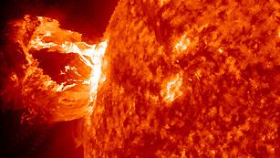 El Sol 'escupe' doce llamaradas en solo tres días 1334663346649