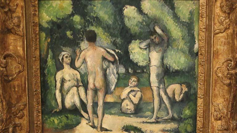 Exposición de Paul Cezanne en el Museo Thyssen, en Madrid