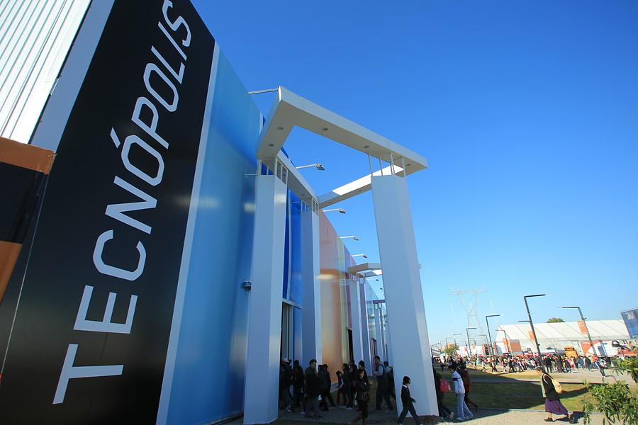 La exposición sobre tecnología de Argentina