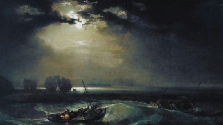 Las obras de Turner inundan el Museo Marítimo de Greenwich en Inglaterra