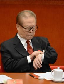 El expresidente de China Jiang Zemin en una imagen de archivo