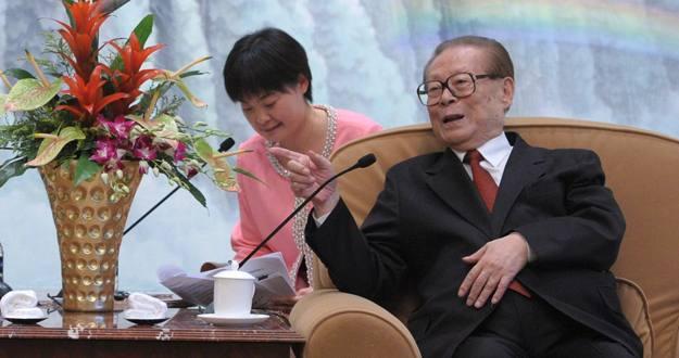 El expresidente chino Jiang Zemin fotografiado el 20 de mayo de 2014