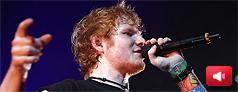 La expresiva amabilidad de Ed Sheeran