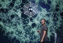 Mark Zuckerberg durante su presentación en la conferencia de desarrolladores Facebook f8