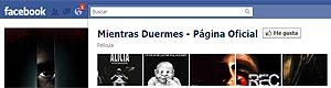 Facebook de 'Mientras duermes'