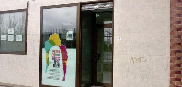 Fachada de la Academia para Todos, en Zaragoza