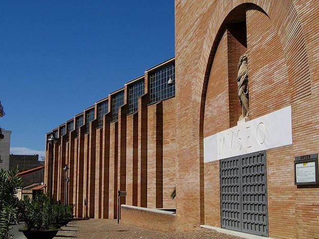 Fachada del Museo de Arte Romano de Mérida