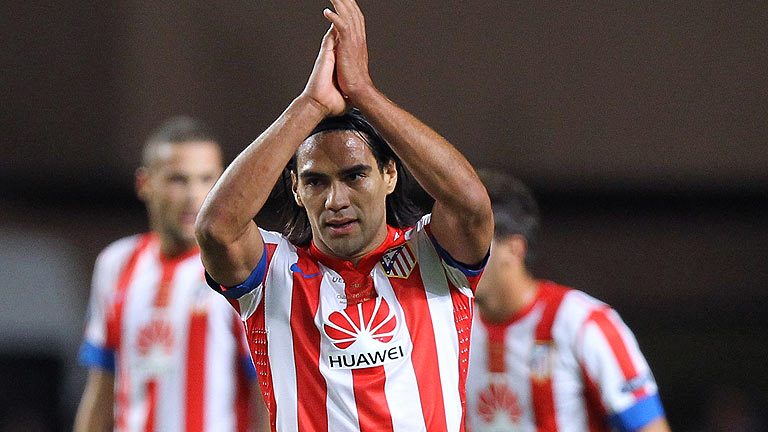 Falcao culmina su 'hat-trick' (0-3)